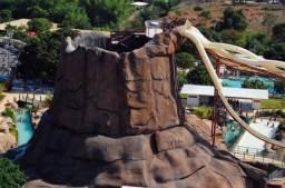 Caldas Novas, Hotel Piazza DiRoma p/ 5 pess. - acesso grátis ao Acqua Park Splash Di Roma