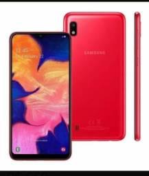 Vendo cecelula Samsung a10 Novo na garantia