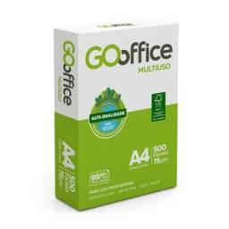 Papel Sulfite A4 Go Office Branco 210x297mm 75g PCT 500 FL