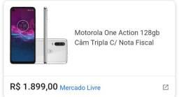 Moto onde action 128gb