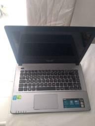 Notebook Asus X450L Intel Core i5 - 6 GB - 1 TB - Super Promoção (usado)