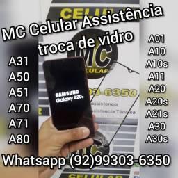 MC Celular Assistência troca de vidro de celular de todas as marcas