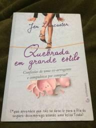 Livro Quebrada em grande estilo - Jen Larcarter
