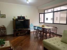 Apartamento com 3 dormitórios para alugar, 130 m² por R$ 4.500,00/mês - Ponta da Praia - S