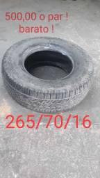 Pneus 265/70/16