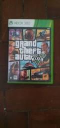 Vendo Capa+Mapa GTA 5 Xbox 360. O jogo n funciona.