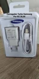 Carregador Turbo Samsung e Motorola (NOVO)
