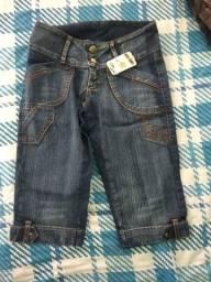 Bermuda Jeans P lindissima Shorts Feminino serve tambem para quem usa 14 12