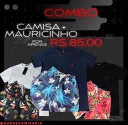 COMBO FINAL DE ANO IMPERDÍVEL(Camisa de Grife+Mauricinho)