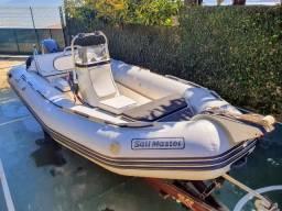 Barco bote inflável 5m 60hp Yamaha