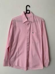 Camisa manga longa listrada