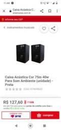 Caixa Acústica CSR 75M 40w