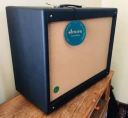 Gabinete para amplificador de guitarra com alto-falante Jensen 12 polegadas 65watts novo