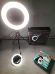 KIT Blogueira Iluminada RING LIGHT - NOVO