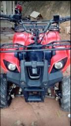 Vendo quadriciclo 110 cilindradas
