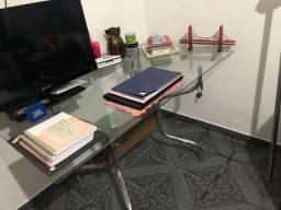 Mesa de vidro para escritório