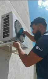 AR condicionado com instalação
