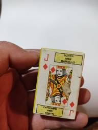 Mini baralho antigo