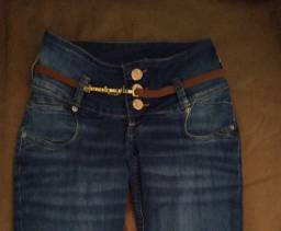 Calça Jeans feminina n 36 nova 50 reais R.I.P.