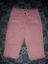 calça feminina rosa claro
