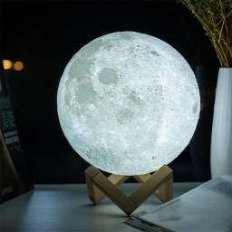 Luminária Lua - 3D