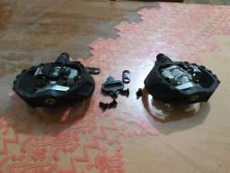pedal clip shimano + taco wellgo