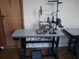 Maquina de Costura Galoneira 3 Agulhas Semi-Industrial Union Special 110v Passo Cartão