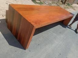 Fabricação de mesa de Madeira demolição