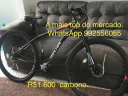 Bicicleta hiltos de aço carbono novo com nota fiscal.