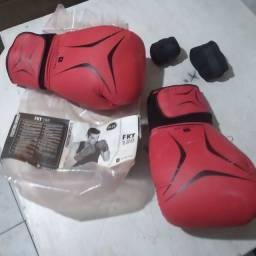 Luva de boxe com bandana