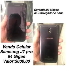 Vendo Samsung J7Pro 64 Gigas