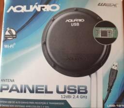 Antena painel USB 12 dBi