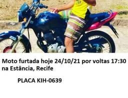Título do anúncio: Moto Estância Recife