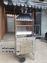 Carrocinha de churrasco ac
