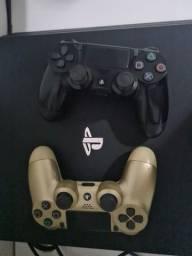 Ps4 pro com dois controles