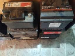Baterias semi novas com garantia