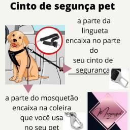 Título do anúncio: cinto de segurança de  carro para  cachorro  universal