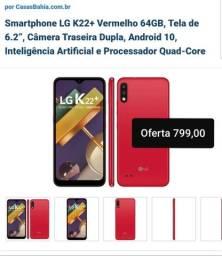 Celular LG K22 Plus