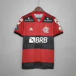Camisa Flamengo 2021/2022 Patrocinadores
