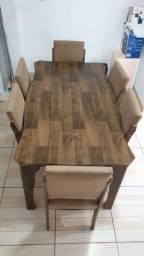 Mesa de Janta 6 cadeiras