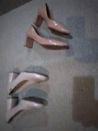 Sapato salto médio