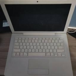Apple Macbook white a1185 13.3 4gb ram aceito cartão