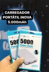 Bateria portátil 5000 mAh - caruaru