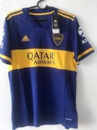 Camisa do Boca Juniors 2021 - Tamanho G - PRONTA ENTREGA !