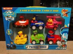 Kit carrinhos patrulha canina