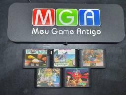 Cartuchos de Jogos para Sega Mega Drive