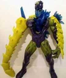 Boneco Elementor Inimigo Do Max Steel Usado Mattel De 30 Cm