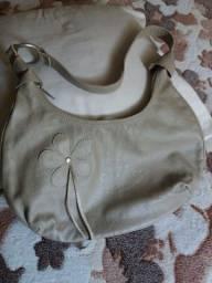 Bolsa de couro legítimo nude