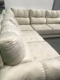 sofá retrátil linha luxo em oferta!!