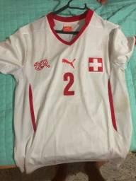 Camisa Suíça Personalizada Lichtsteiner